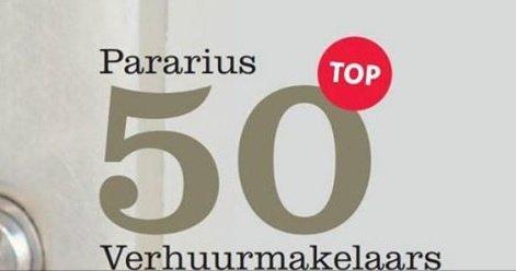 Tweede plek voor 123Wonen in top 25 van Pararius!
